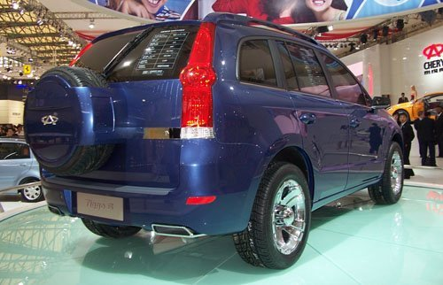 改头换面 瑞麒X6 SUV外观效果图遭曝光
