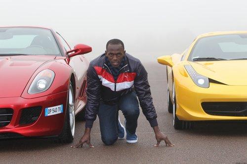 乌塞恩•博尔特:我像极了法拉利跑车