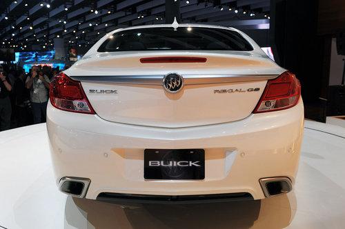 黑白双刹登场 别克君威GS高性能版首发