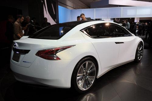 日产Ellure概念车 亮相洛杉矶国际车展