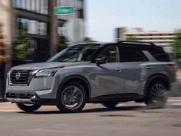 日产全新中大型SUV探路者实拍!车长超过5米 明年国产!