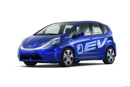 电动概念车FIT EV CONCEPT 亮相洛杉矶