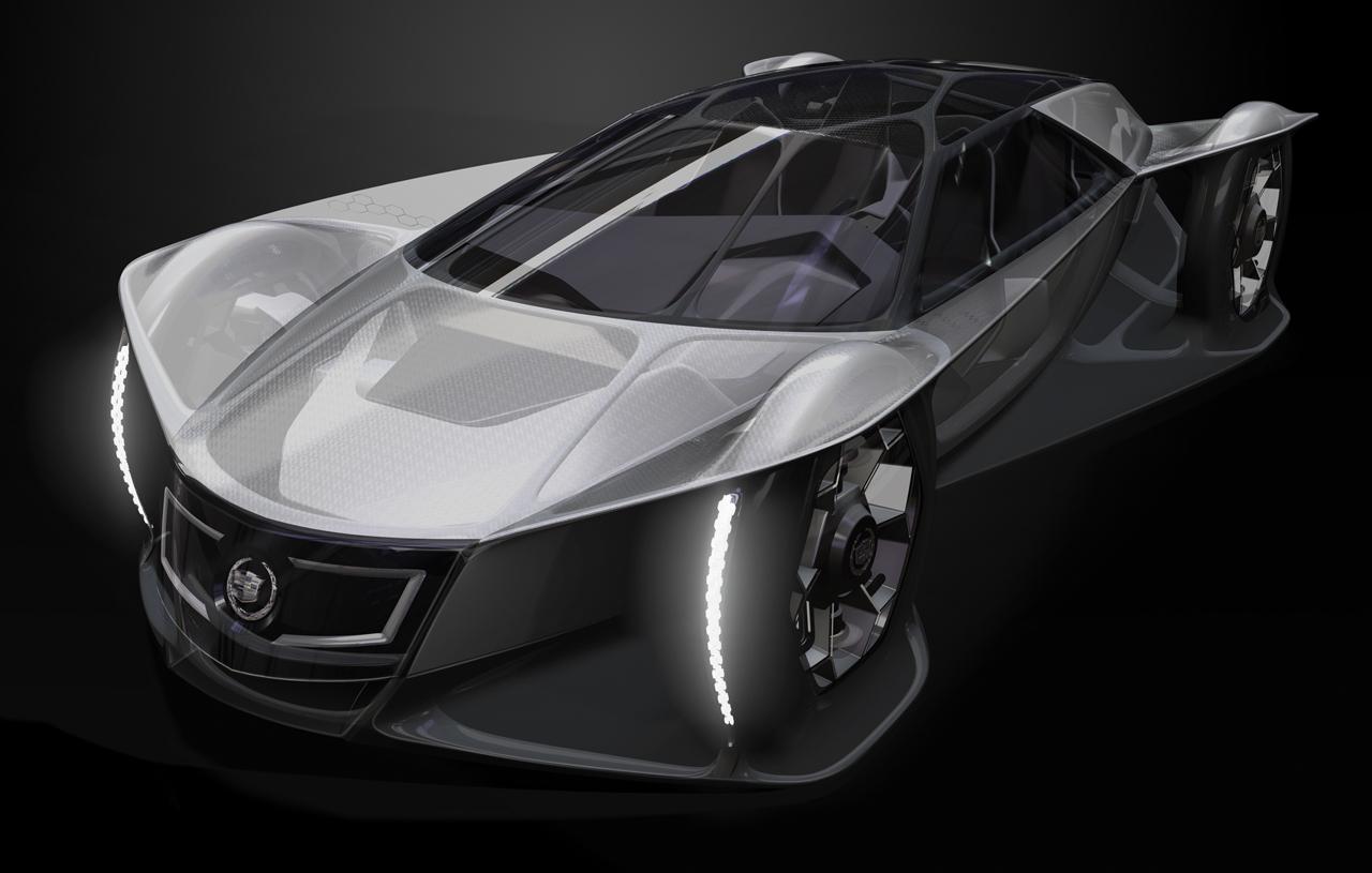 问鼎设计大赛 凯迪拉克aera概念车发布 图9_汽车点评网