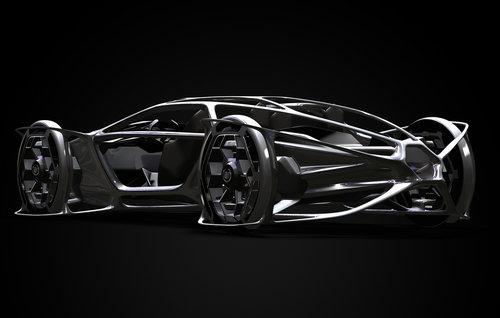 凯迪拉克aera概念车是一款2+2豪华旅行车,以一种创新、时尚高清图片