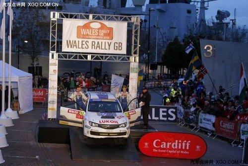 斯巴鲁车手佛朗丁获2010 P-WRC年度亚军