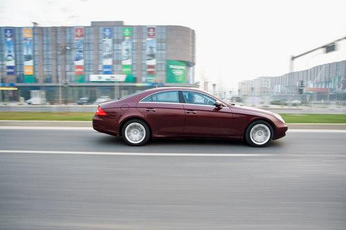 品味经典 全面测试四门轿跑奔驰cls350 高清图片