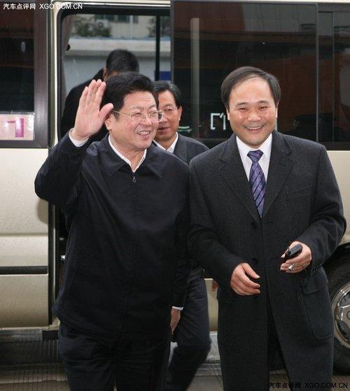 王兆国 吉利收购沃尔沃是中国车企榜样