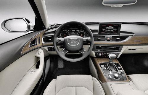 新车发布在即 新奥迪A6官方图提前泄露