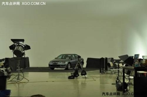 上市在即 2011Mazda6广告拍摄花絮露出