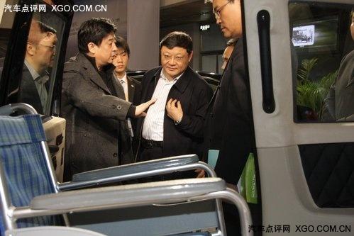 王伟中:TX4无障碍车应着力特殊市场