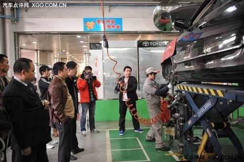 广丰售后车间开放日 九成车主表示满意