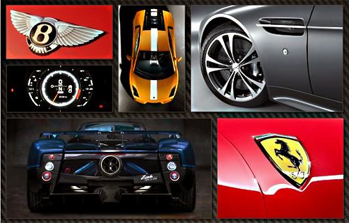 汽车以往激情四射的设计理念的超级跑车的话,那么奔驰sls amg高清图片