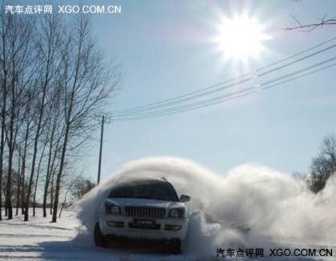瑞鹰冰雪穿越试驾 正式挺进雪原腹地