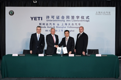 于2013年上市 斯柯达YETI正式确定国产