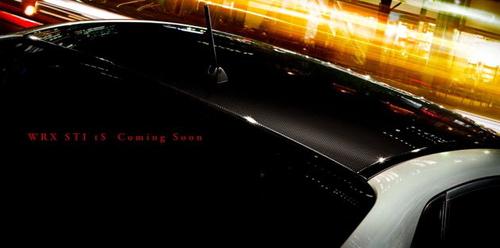 碳纤维车顶 翼豹STi tS特别版即将登场