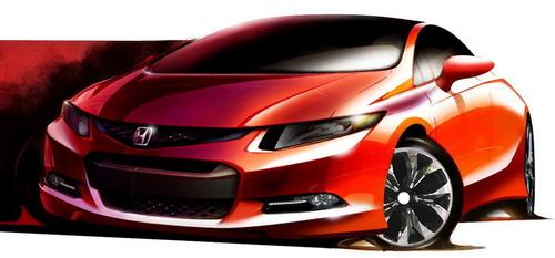 明年1月亮相 本田将发布新Civic概念车
