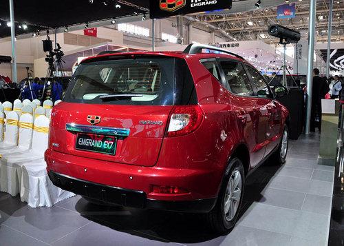 广州车展亮相 吉利SUV帝豪EX7明年上市