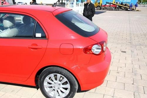 F3R尾部造型 比亚迪G3R两厢车提前曝光