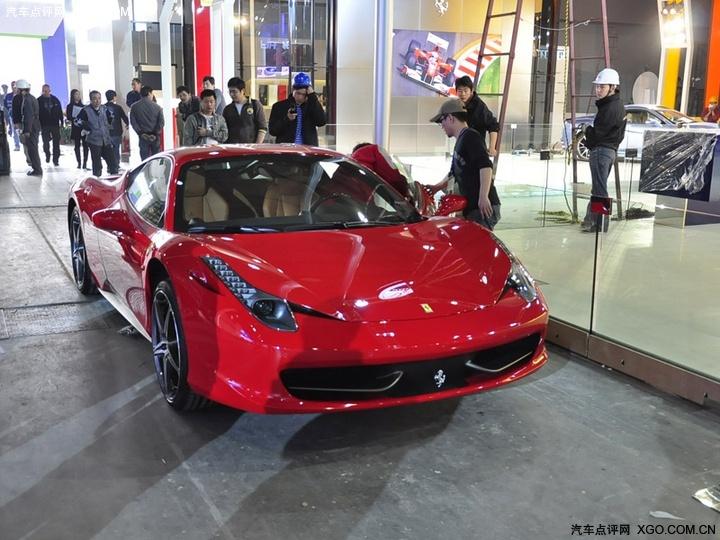 法拉利458 车展组图 xgo汽车点评网高清图片