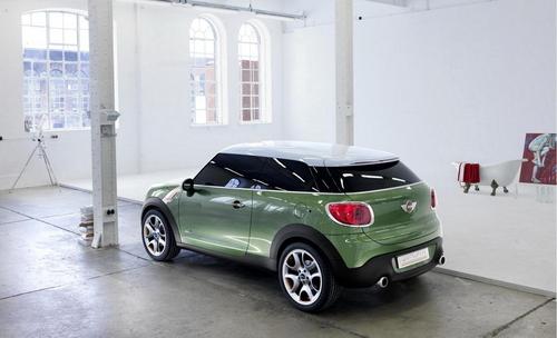 明年1月亮相 MINI推双门Paceman概念车