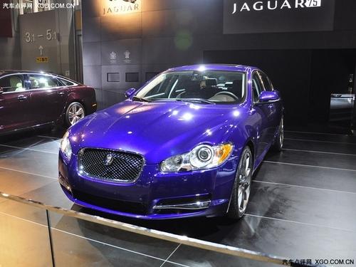 售价75万元 捷豹XF 75周年纪念版上市