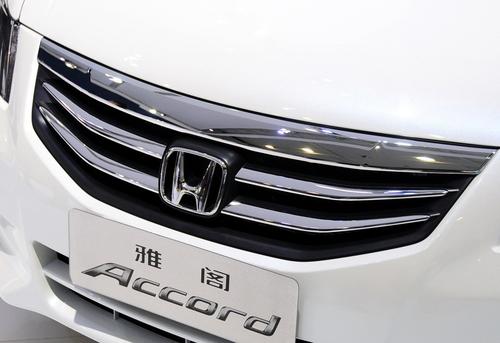 明年1月上市 2011款雅阁亮相广州车展