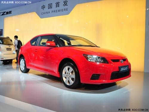 换标Scion tC 丰田Zelas双门轿跑首发
