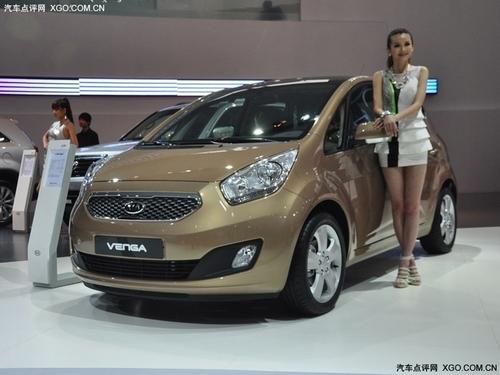与秀尔同平台 起亚Venga广州车展首发