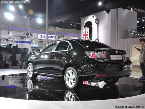 上海汽车MG6三厢版亮相