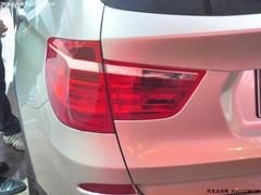 SUV的新期待 宝马全新一代X3车展实拍