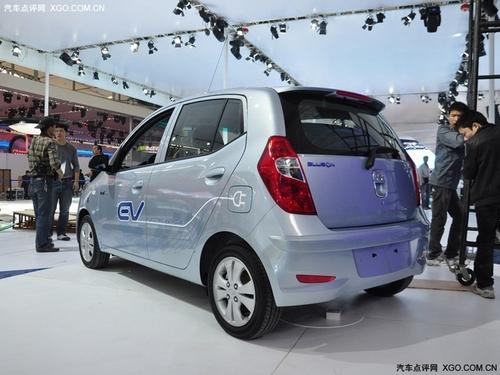 基于现代i10 现代BlueOn纯电动车亮相
