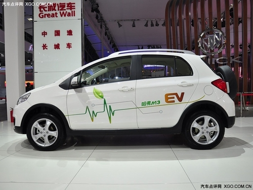 SUV也玩电动 哈弗M3电动版车展抢先实拍
