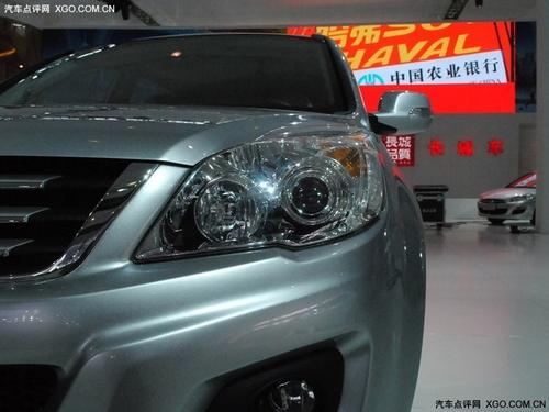 明年上半年上市 长城中型SUV哈弗H6亮相