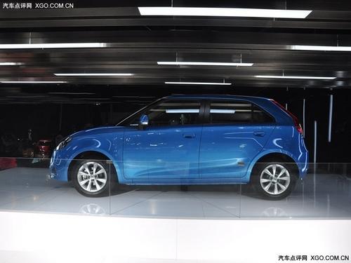 预计7万元起 上汽MG3明年2月中旬上市