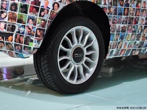 不曾体验的另类时尚 菲亚特500车展实拍