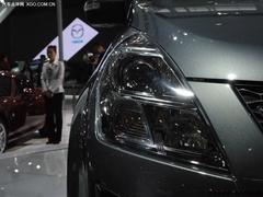 角逐MPV市场 车展实拍豪华动感马自达8