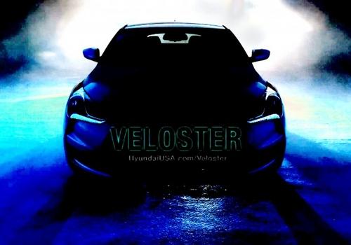 直喷+双离合 现代Veloster轿跑预告图