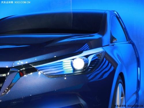 2012年4月上市 东风日产启辰概念车发布