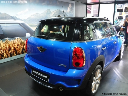 全系四驱 MINI Countryman 1月15日上市