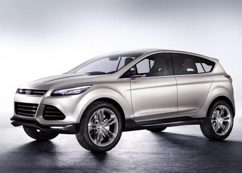 新一代Kuga预览 福特发布Vertrek概念车