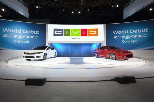 于2012年上市 两款全新思域概念版发布