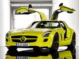 跑车级性能 奔驰确认将量产电动版SLS