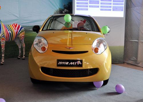 售3.88-6.08万 2011款瑞麒M1正式上市