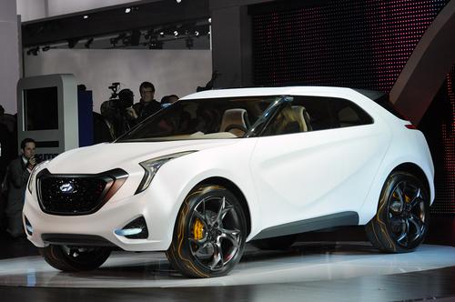 ix35小兄弟 现代Curb概念车首发亮相