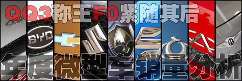 QQ3称王F0紧随其后 年度微型车销量分析