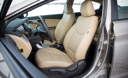 线条优美 短途试驾2011款现代伊兰特