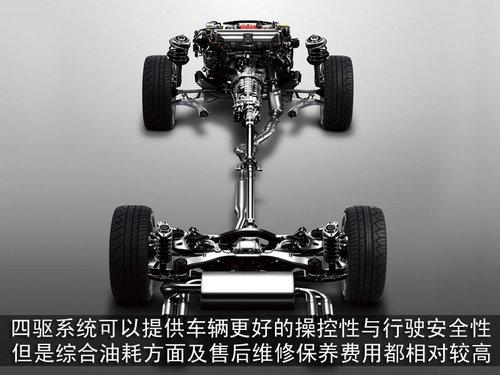 运动商务全兼得 4款低调四驱车型推荐