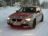 将换新发动机 2012款宝马1系雪地谍照