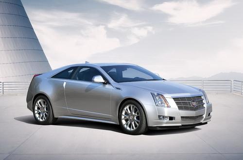 双门运动造型 CTS Coupe车型预计将进口