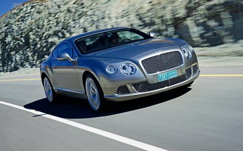 贵族中的运动员 试驾新一代宾利欧陆GT